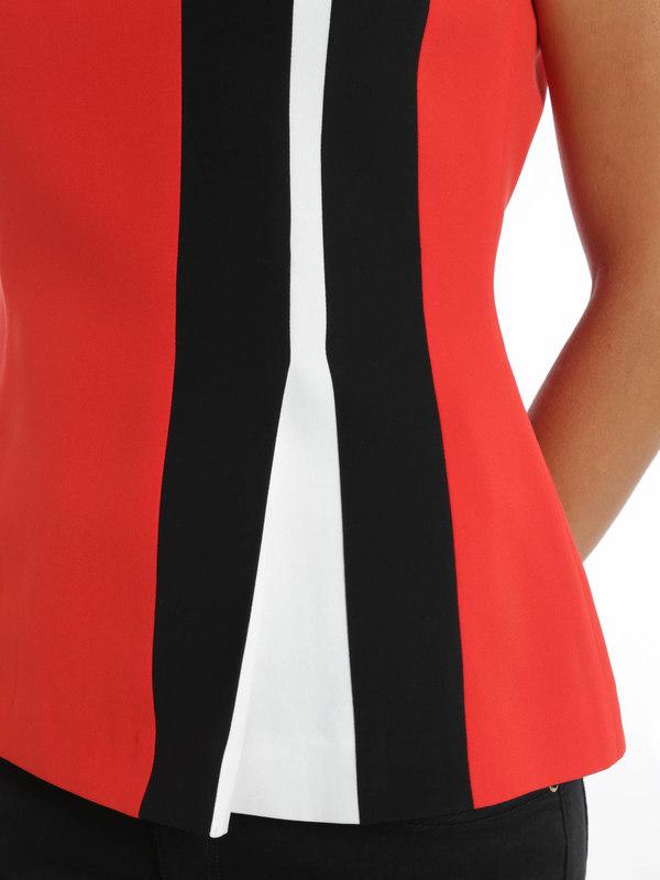 shop online. Striped blouse