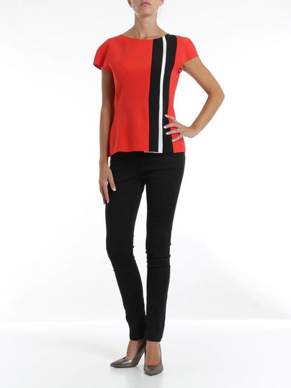 Fendi:  online - Striped blouse