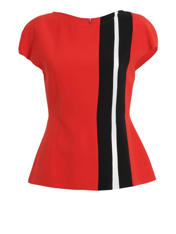Fendi:  - Striped blouse