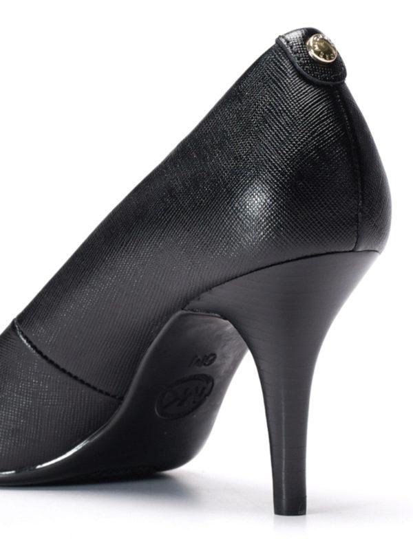 Flex leather mid pumps shop online: Michael Kors