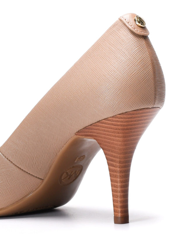 Flex leather mid pumps shop online: Michael Kors