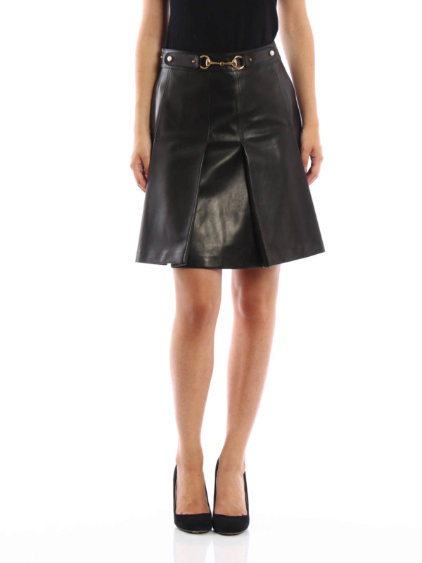 pleated leather skirt by gucci leather skirts ikrix