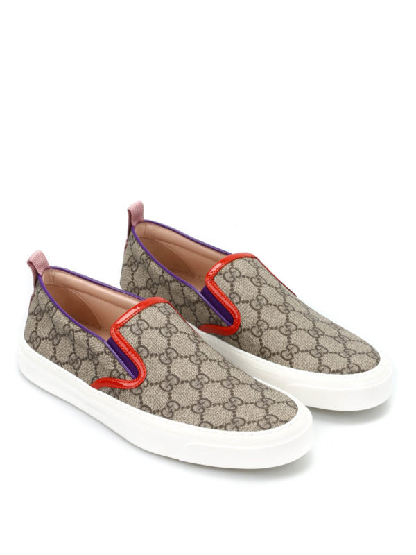 Gucci:  - GG slip-on sneakers