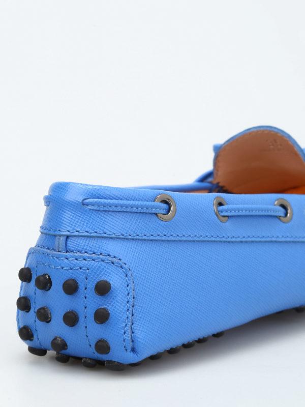 Heaven Laccetto saffiano loafers shop online: Tod