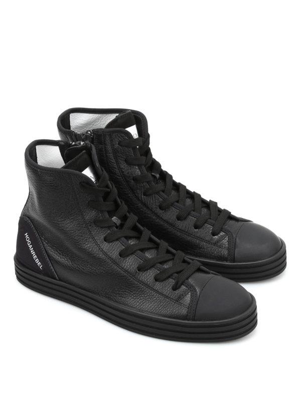scarpe alte tipo hogan