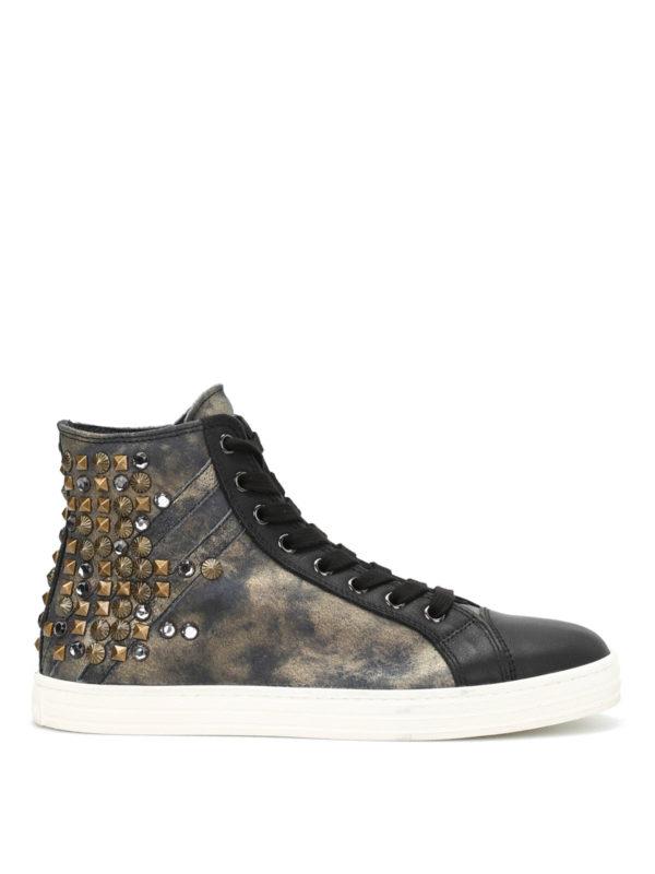 hogan rebel sneaker - r141