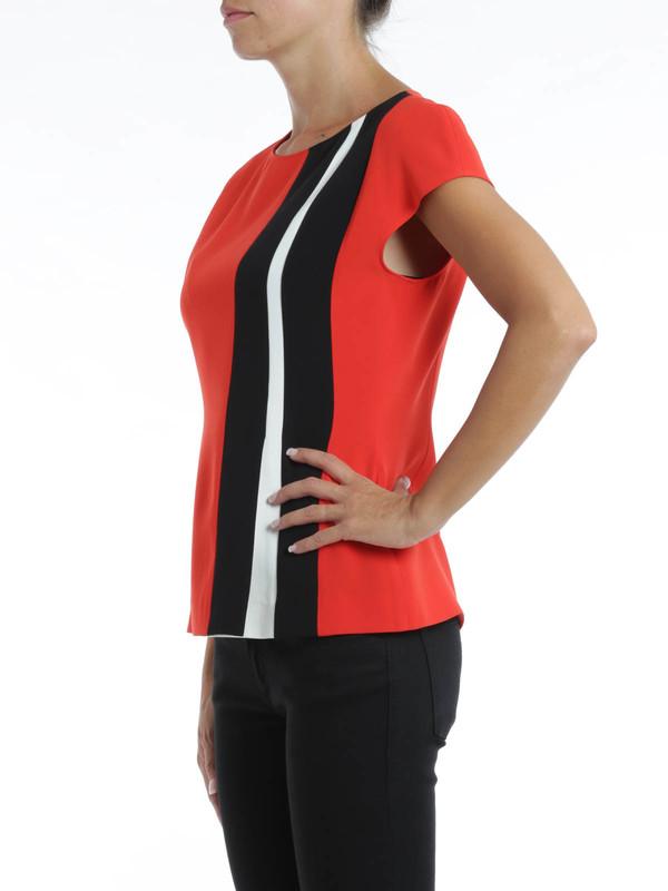 iKRIX Fendi:  - Striped blouse