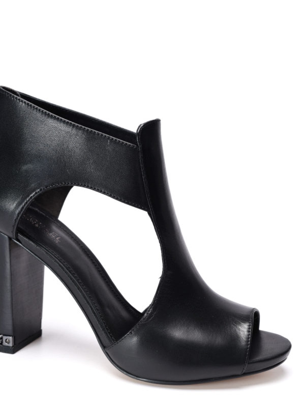 iKRIX Michael Kors:  - Sabrina open toe ankle boots