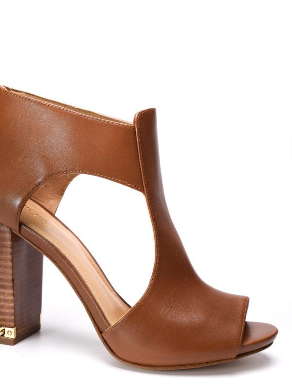 iKRIX Michael Kors:  - Sabrina open toe ankle boots