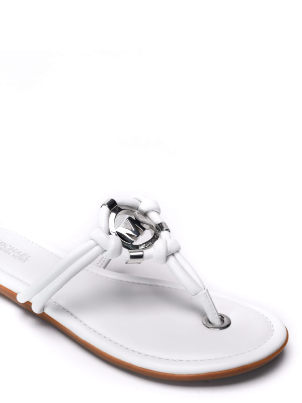 iKRIX Michael Kors:  - Kinley leather thong sandals