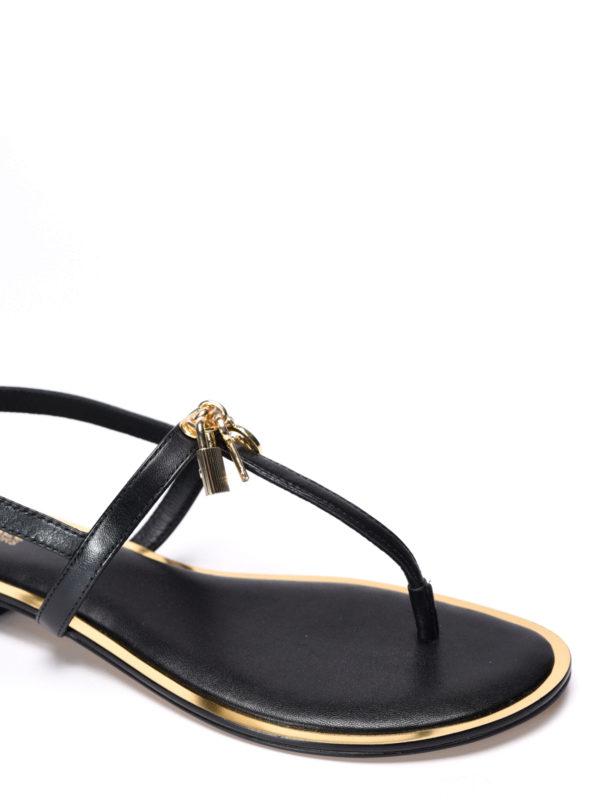 iKRIX Michael Kors:  - Suki leather thong sandals