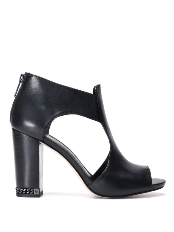 Michael Kors:  - Sabrina open toe ankle boots