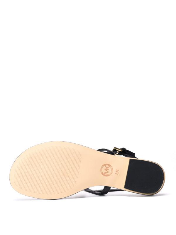 Michael Kors buy online Suki leather thong sandals