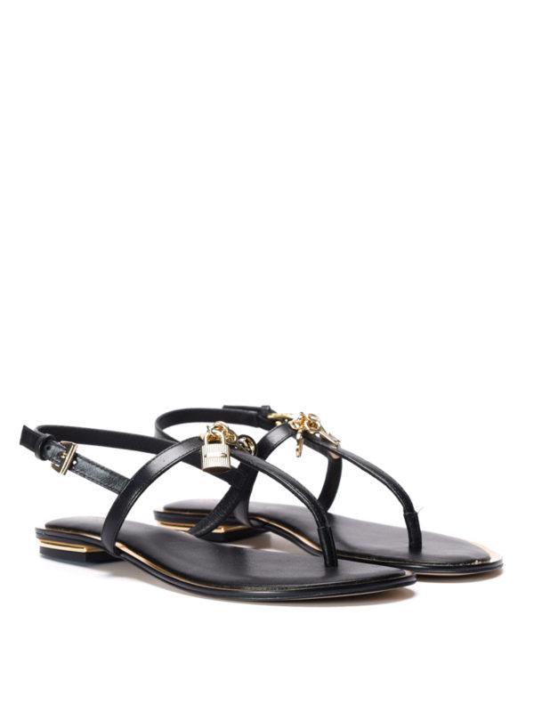 Michael Kors:  online - Suki leather thong sandals
