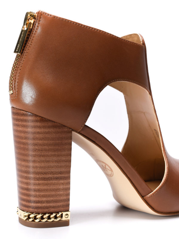 Sabrina open toe ankle boots shop online: Michael Kors