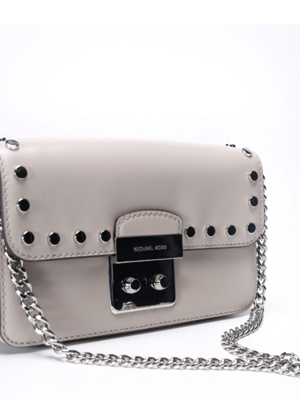 Sloan smooth leather small bag shop online: Michael Kors