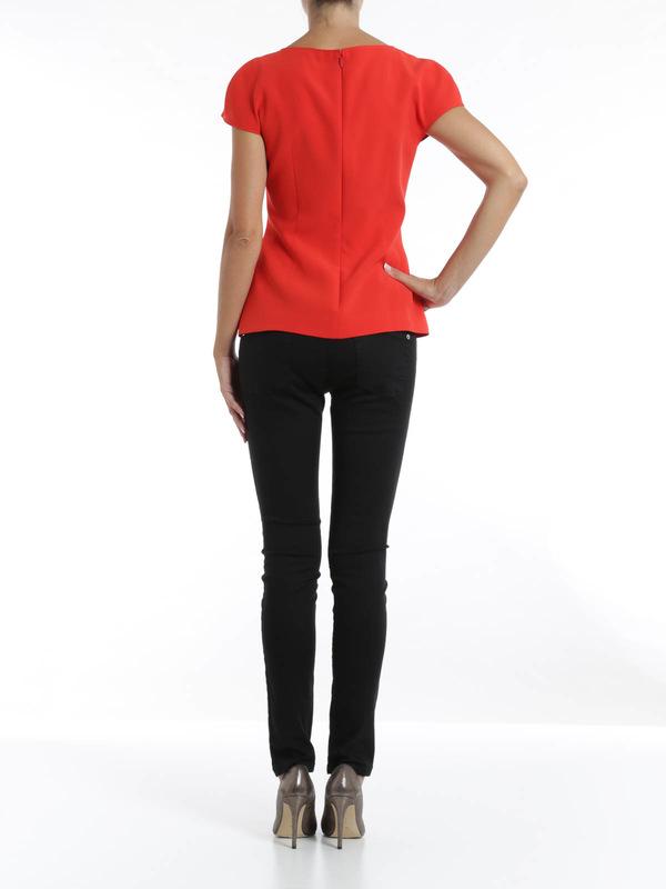 Striped blouse shop online: Fendi