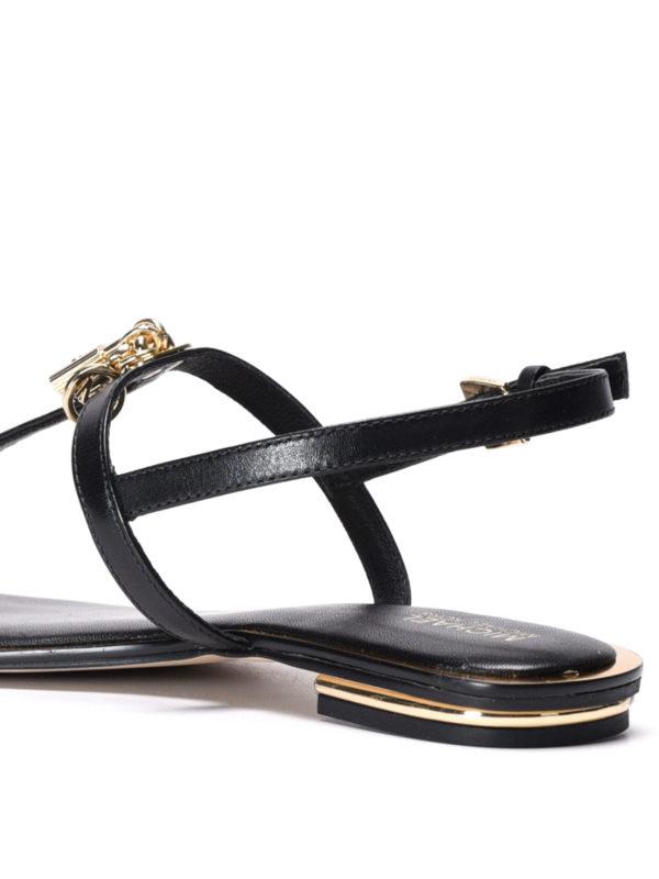 Suki leather thong sandals shop online: Michael Kors