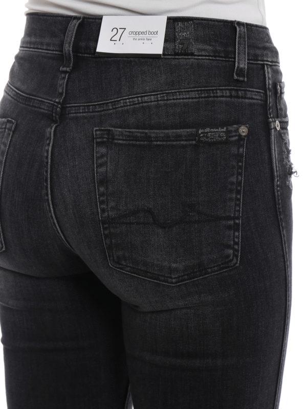 7 FOR ALL MANKIND buy online Straight Leg Jeans - Dunkelgrau
