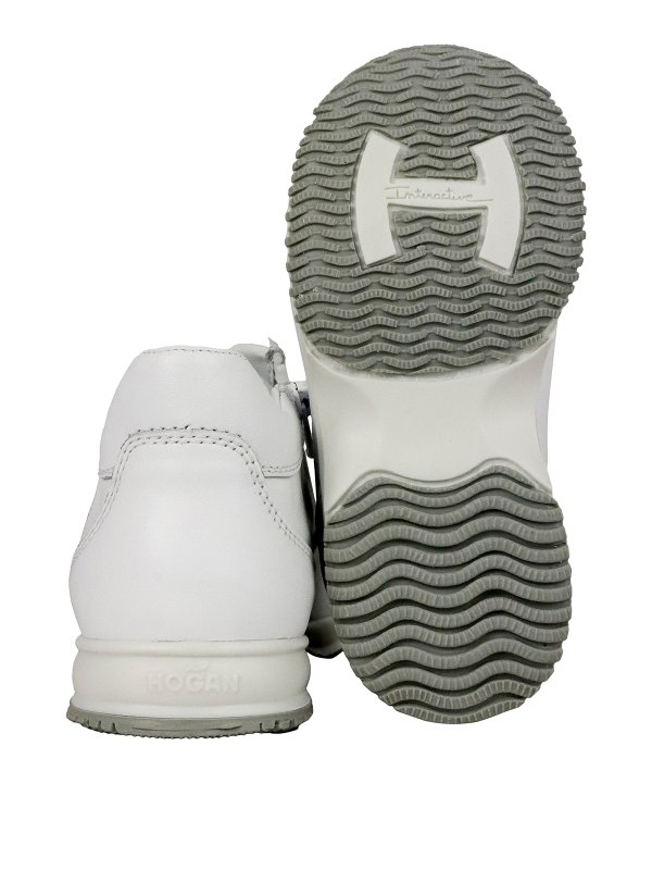Hogan Junior - Interactive leather sneakers - trainers ...