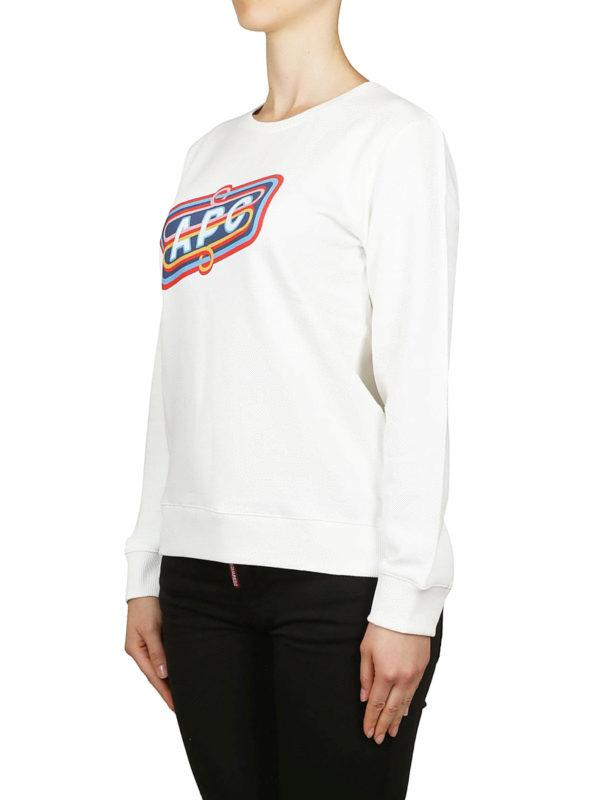 A.P.C.: Sweatshirts und Pullover online - Sweatshirt - Weiß