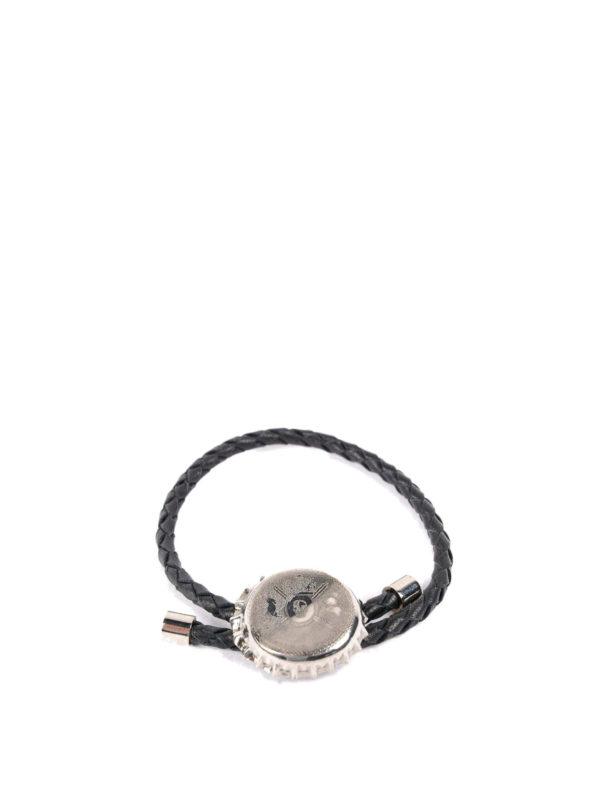 Alexander Mcqueen: Armbänder und Armkettchen - Armband - Schwarz