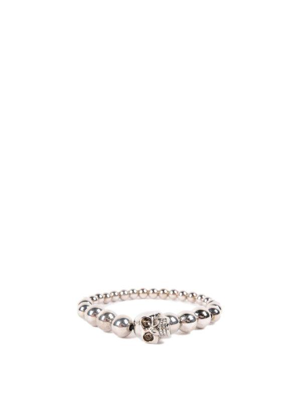 ALEXANDER MCQUEEN: Armbänder und Armkettchen - Armband - Silber