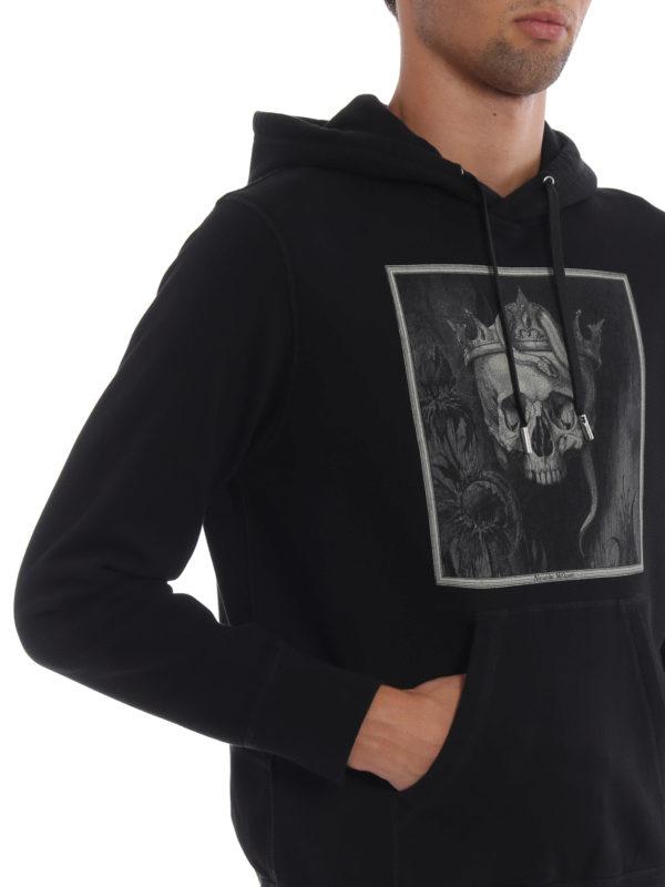 ALEXANDER MCQUEEN buy online Sweatshirt - Schwarz