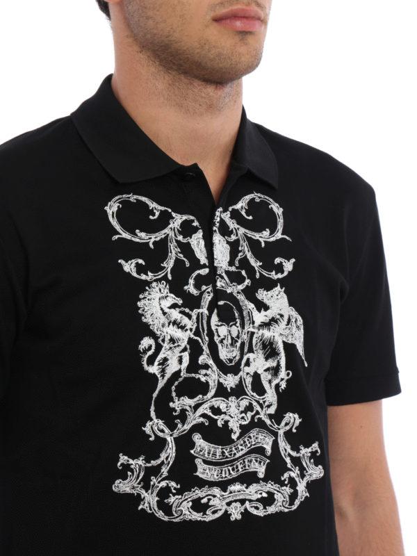 Alexander Mcqueen buy online Poloshirt - Gemustert