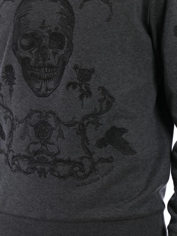 ALEXANDER MCQUEEN buy online Sweatshirt - Dunkelgrau