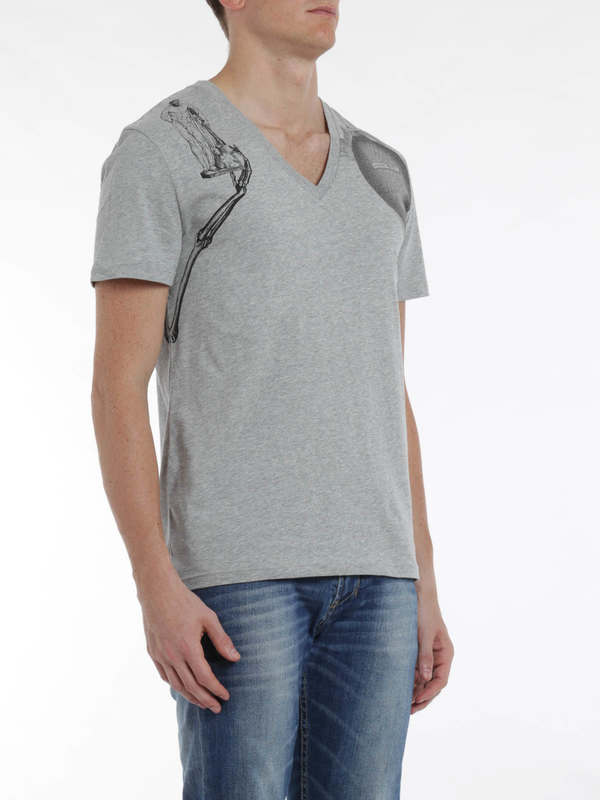 ALEXANDER MCQUEEN buy online Harness print t-shirt