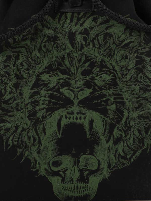 ALEXANDER MCQUEEN buy online Skull print backpack
