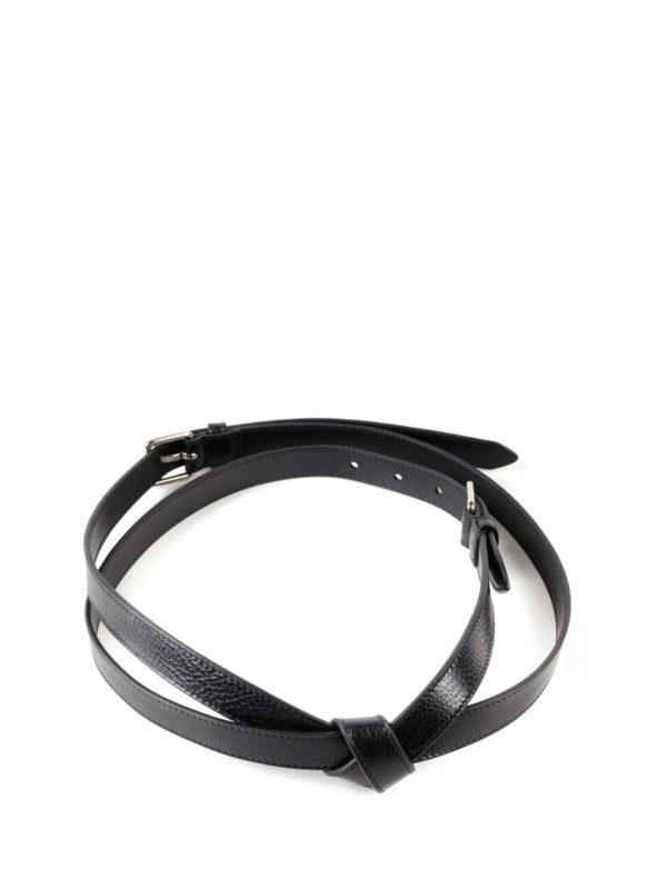 Alexander Mcqueen: Cinturones online - Cinturón - Negro