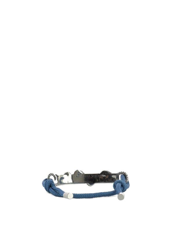 ALEXANDER MCQUEEN: Armbaender und Armkettchen online - Armband - Blau