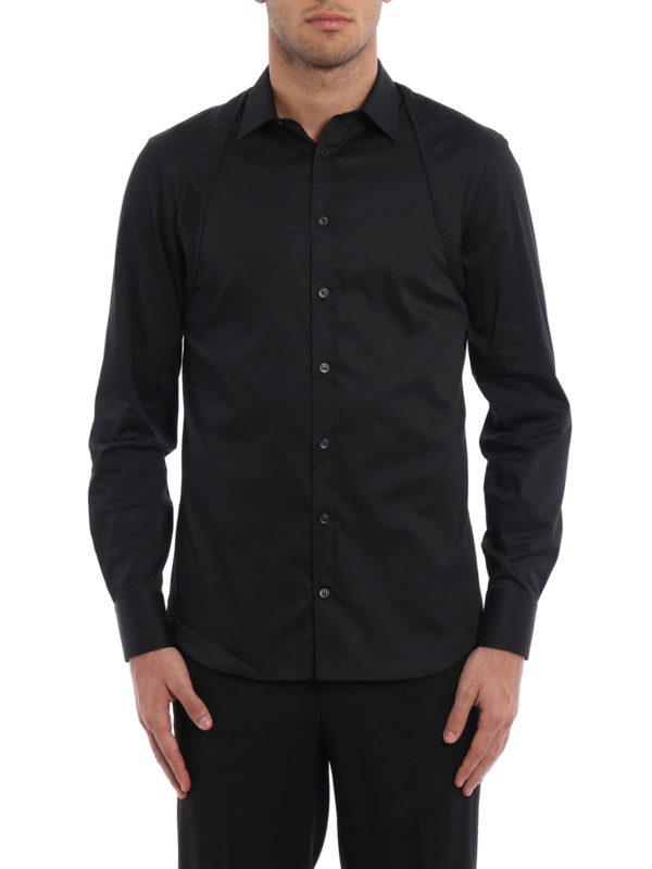 ALEXANDER MCQUEEN: Hemden online - Hemd - Schwarz