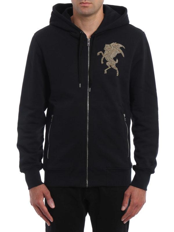 ALEXANDER MCQUEEN: Sweatshirts und Pullover online - Sweatshirt - Einfarbig