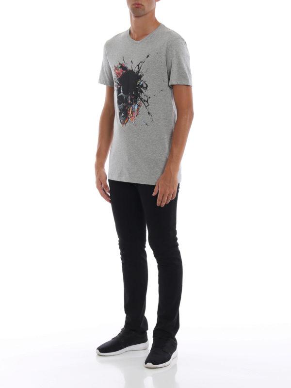 ALEXANDER MCQUEEN: T-shirts online - T-Shirt - Grau