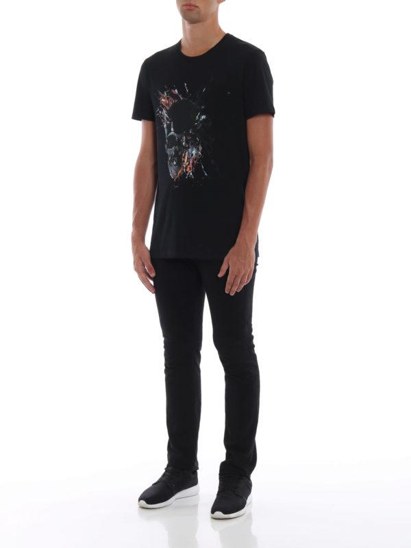 ALEXANDER MCQUEEN: T-shirts online - T-Shirt - Schwarz