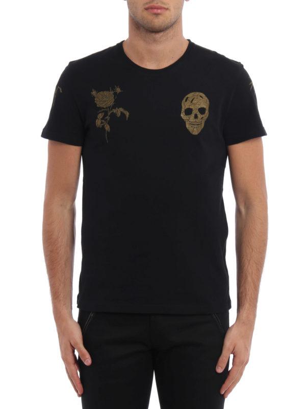 ALEXANDER MCQUEEN: T-shirts online - T-Shirt - Gemustert
