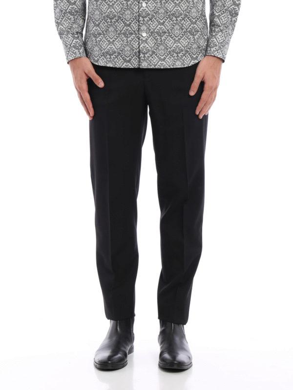 ALEXANDER MCQUEEN: Maßgeschneiderte und Formale Hosen online - Formale Hose - Einfarbig