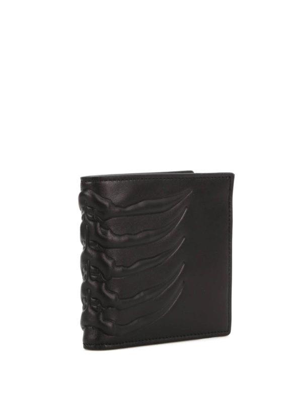 ALEXANDER MCQUEEN: wallets & purses online - Ribcage bifold wallet