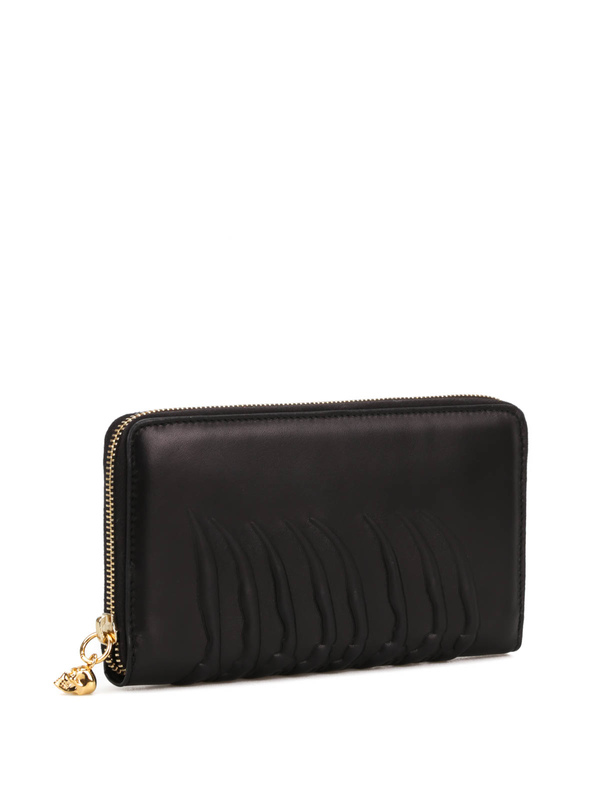 ALEXANDER MCQUEEN: wallets & purses online - Ribcage zip around wallet