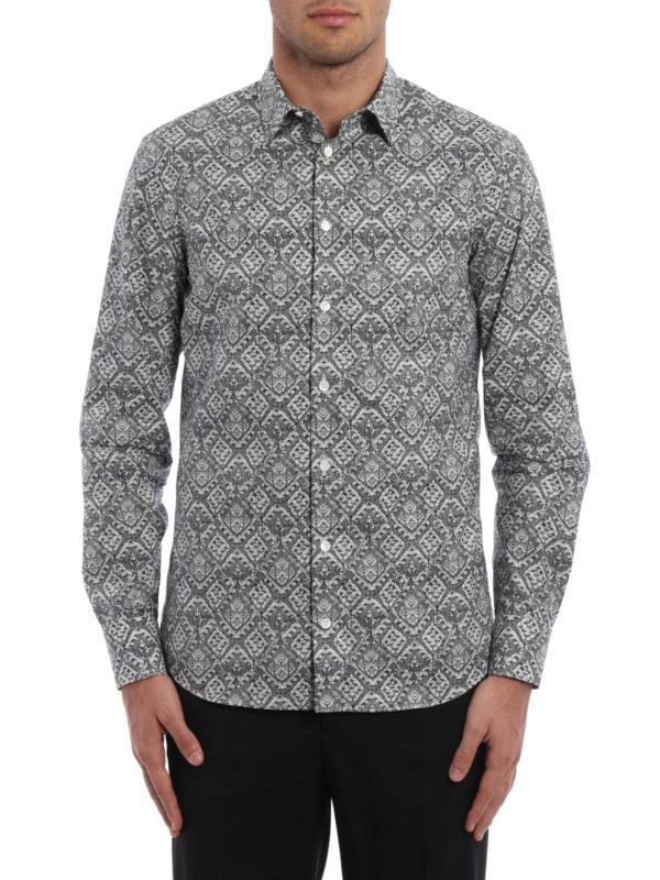 Alexander Mcqueen: Hemden online - Hemd - Gemustert