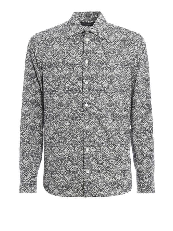 Alexander Mcqueen: Hemden - Hemd - Gemustert