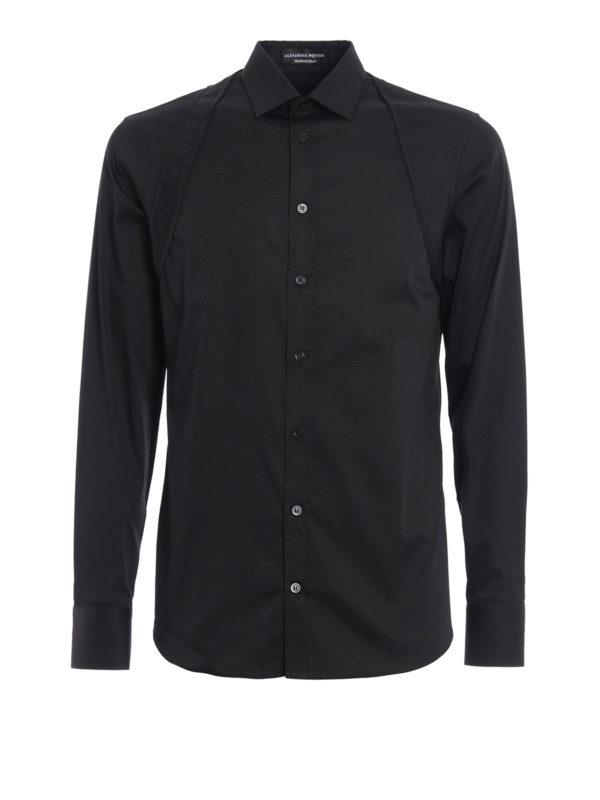 Alexander Mcqueen: Hemden - Hemd - Schwarz