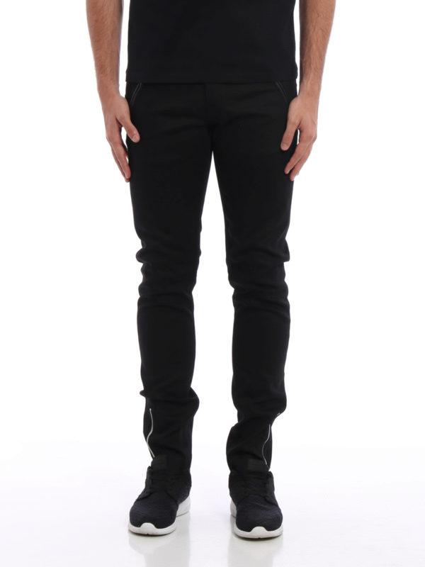 Alexander Mcqueen: Straight Leg Jeans online - Straight Leg Jeans - Schwarz