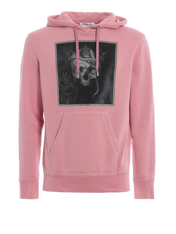 ALEXANDER MCQUEEN: Sweatshirts und Pullover - Sweatshirt - Pink