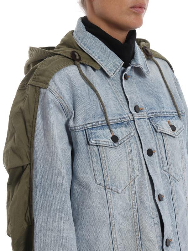 ALEXANDER WANG buy online Jeansjacke - Helles Jeansblau