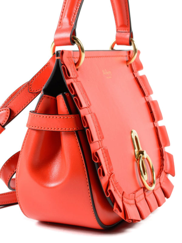 ca35fd52e7 Mulberry - Amberley red leather small saddle bag - cross body bags ...