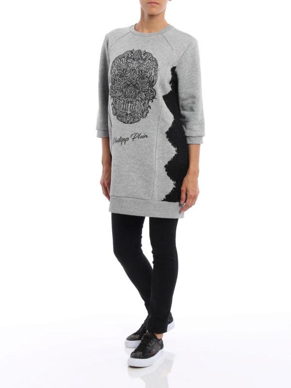 Sweatshirt - Grau shop online: Philipp Plein